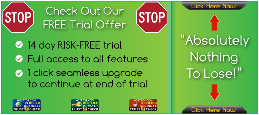 HostTop Trial Offer